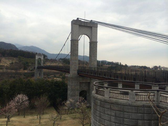 風の吊り橋-神奈川県立 秦野戸川...
