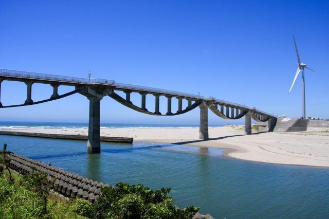 静岡県掛川市 潮騒橋(しおさいばし)|土木ウォッチング